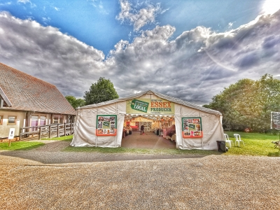 Essex Local Food Festival July Cressing Temple Barns